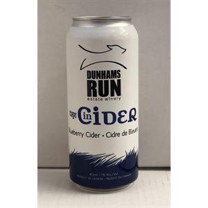 Dunhams Run Blueberry Cider 473ml