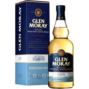 Glen Moray Classic Peated Single Malt Scotch 700ml