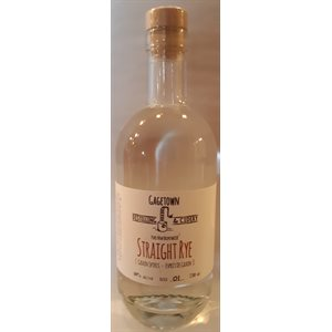 Gagetown Distilling & Cidery Straight Rye 750ml