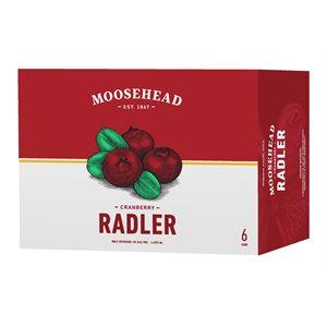 Moosehead Radler Cranberry 6 C