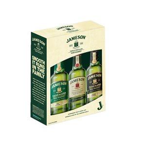 Jameson Irish Whiskey Family Gift Pack 3 x 200ml