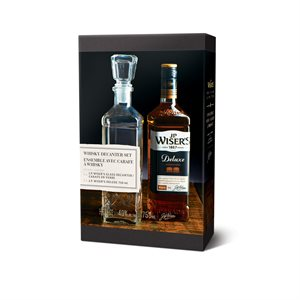 JP Wisers Deluxe Canadian Whisky Gift Pack 750ml