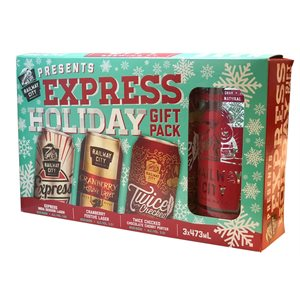Railway City Brewing Holiday Gift Pack 3 C