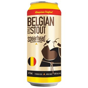 Spearhead Belgian Style Stout 473ml