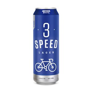 Amsterdam 3 Speed Lager 568ml