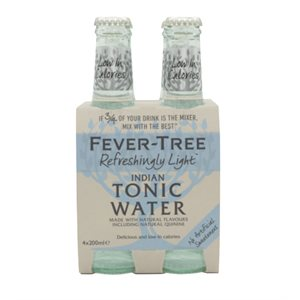 Fever-Tree Tonic Water Light 4 x 200ml