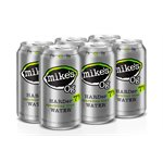 Mikes Hard Sparkling Water Lime 6 C