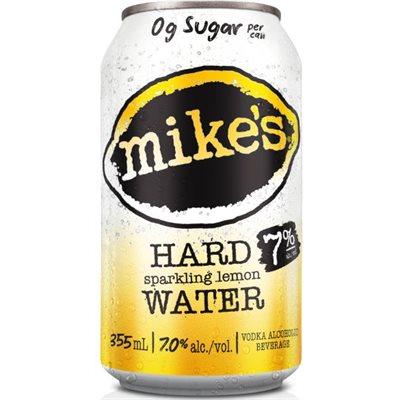 Mikes Hard Sparkling Water Lemon 6 C