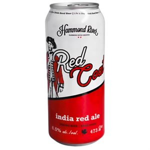 Hammond River Red Coat India Red Ale 473ml