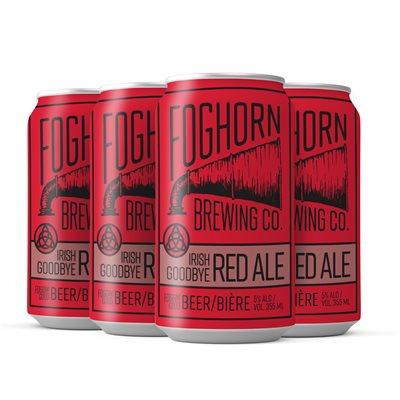 Foghorn Irish Goodbye Irish Red Ale 4 C