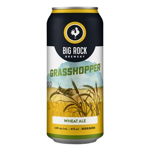 Big Rock Grasshopper Filtered Wheat Ale 473ml