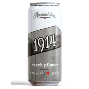 Hammond River 1914 Czech Pilsner 473ml
