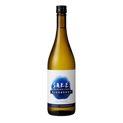Gekkeikan Blueberry Flavoured Sake 750ml