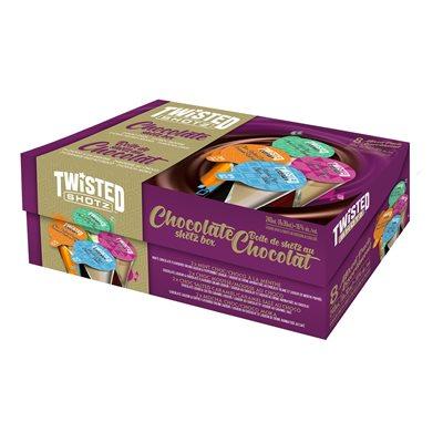 Twisted Shotz Chocolate Pack 8 P
