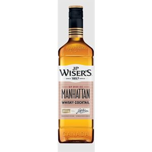 JP Wisers Manhattan Canadian Whisky Cocktail 750ml
