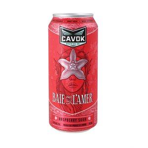 Cavok Brewing Baie Sur L'amer Raspberry Sour Ale 473ml