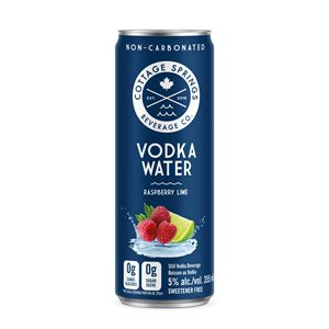 Cottage Springs Raspberry Lime Vodka Water 4 C