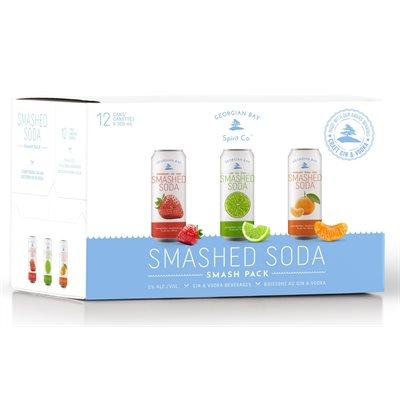 Georgian Bay Smashed Soda Mixed Pack 12 C