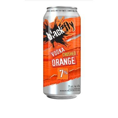 Black Fly Crushed Orange 473ml
