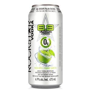 Rockstar Vodka 0g Sour Apple 473ml