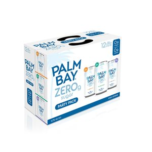 Palm Bay Zero Variety Pack 12 C