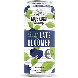 Muskoka Late Bloomer Kolsch With Blueberry And Elderflower 473ml