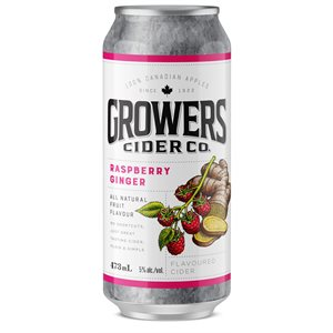Growers Raspberry Ginger Flavoured Cider 473ml