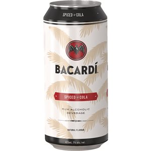Bacardi Spiced & Cola 473ml