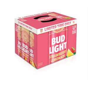 Bud Light Strawberry Lemonade 12 C