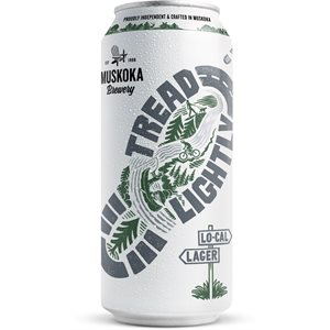 Muskoka Tread Lightly Light Lager 473ml