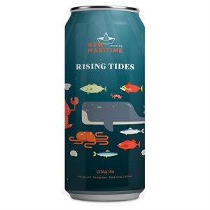 New Maritime Rising Tide Citra IPA 473ml