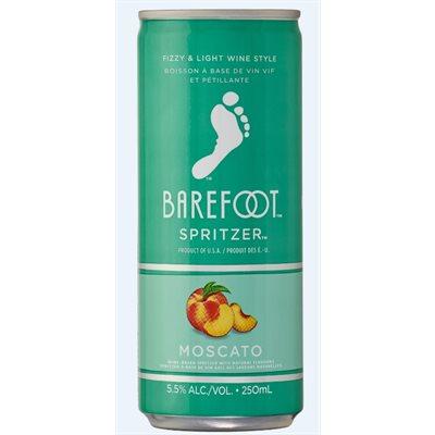 Barefoot Refresh Moscato Spritzer 250ml