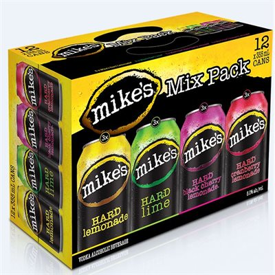 Mikes Hard Mix Pack 12 C