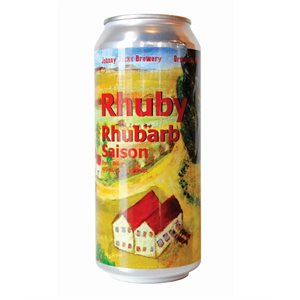 Johnny Jacks Rhuby Rhubarb Saison 473ml
