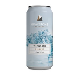 Graystone Brewing The North Pilsner 473ml