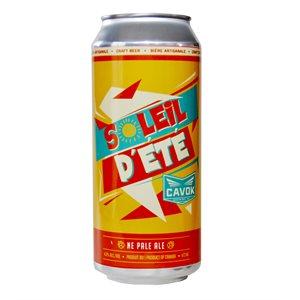 Cavok Brewing Soleil D'Ete New England Pale Ale 473ml