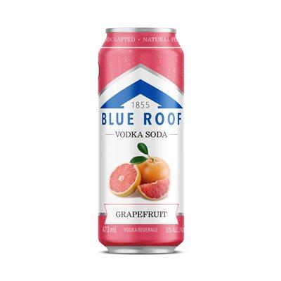 Blue Roof Vodka Soda Grapefruit 473ml