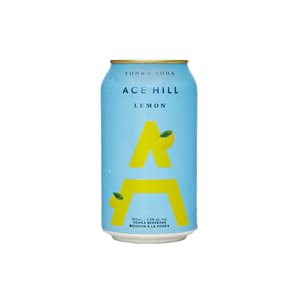Ace Hill Lemon Vodka Soda 355ml