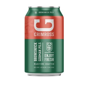 Grimross Brunswick Pilsner 355ml