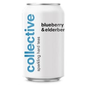 Collective Arts Blueberry & Elderflower Sparkling Tea 355ml
