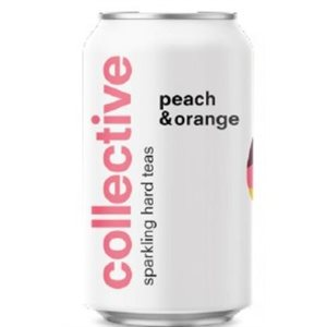Collective Arts Peach & Orange Sparkling Tea 355ml