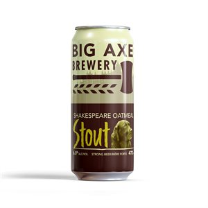 Big Axe Shakespeare Oatmeal Stout 473ml