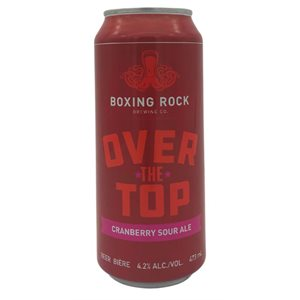 Boxing Rock Over The Top Sour Cranberry Wheat Ale 473ml