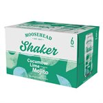 Moosehead Shaker Cucumber Lime Mojito 6 C