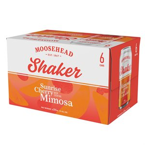 Moosehead Shaker Sunrise Cherry Mimosa 6 C