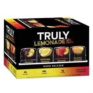 Truly Lemonade Mix Pack 12 C