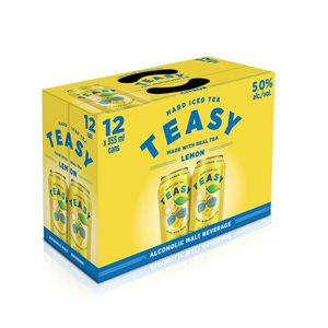 Teasy Hard Iced Tea 12 C