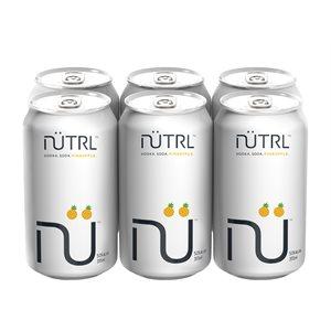 Nutrl Vodka Soda Pineapple 6 C