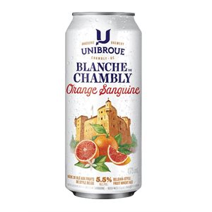 Unibroue Blanche De Chambly Blood Orange 473ml