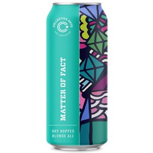 Collective Arts Matter Of Fact Dry Hopped Blonde Ale 473ml